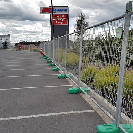 Fencing hire Hamilton, rent temporary fence Waikato NZ